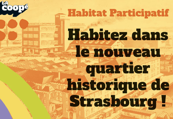affiche habitat participatif strasbourg