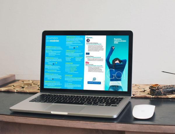 vue ordinateur site internet rentrée étudiants