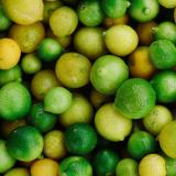 Photo citrons jaunes et verts