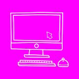 Dessin écran d'ordinateur