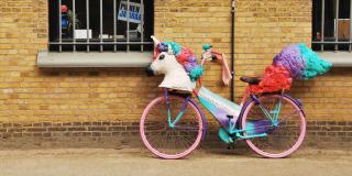 Vélo licorne