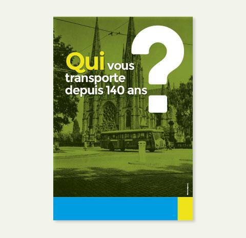 affiche CTS : qui vous transporte depuis 140 ans ?
