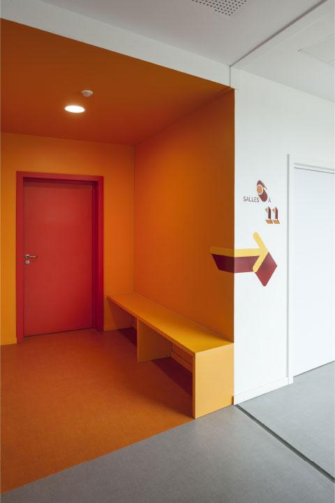 signalétique couloirs