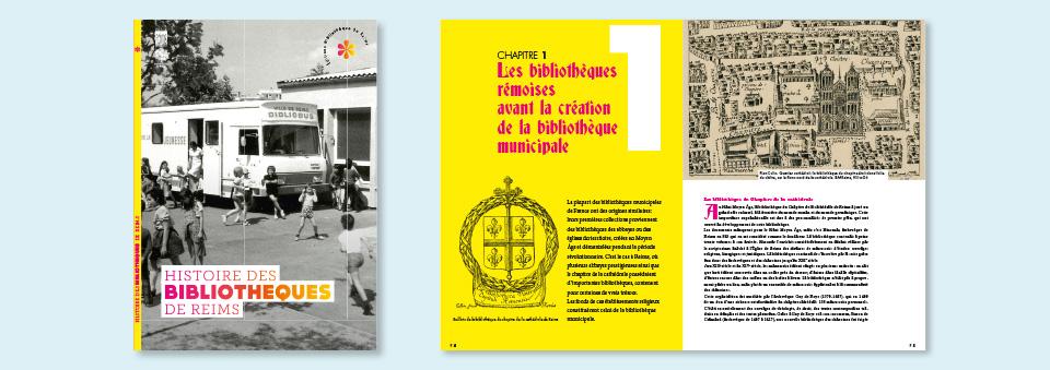 revue de la ville de Reims sur le thème Bibliothèques