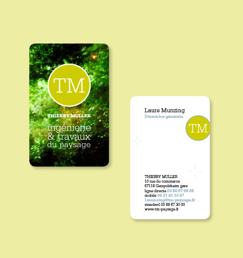 cartes business Thierry Muller