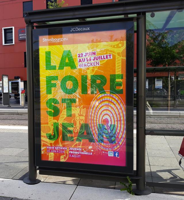affiche la foir saint-jean en ville