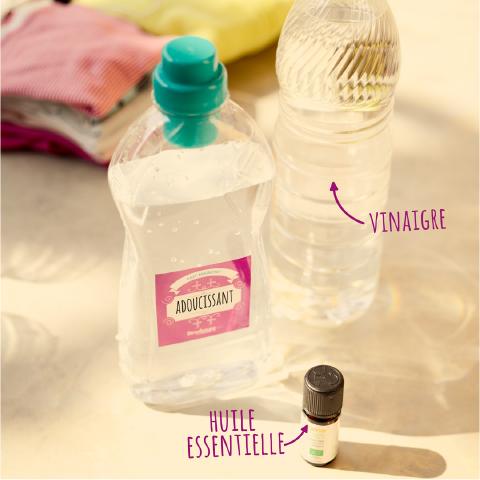 photo packaging étiquette ménage au naturel