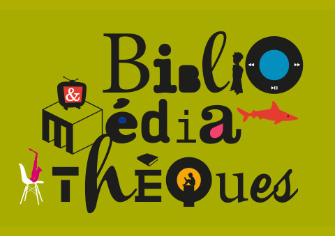 illustration identité médiathèques Reims