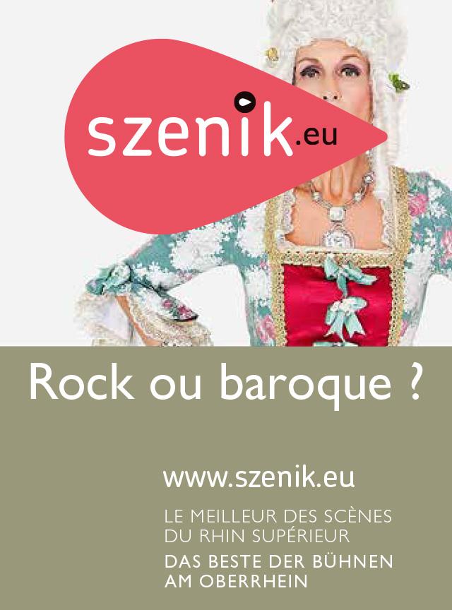 affiche szenik rock ou baroque