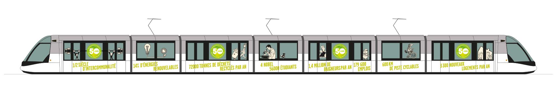 rendu stickage tramway 50 ans