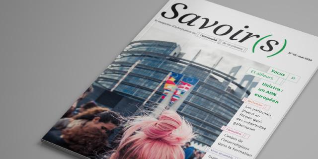 couverture magazine Savoirs photo parlement européen