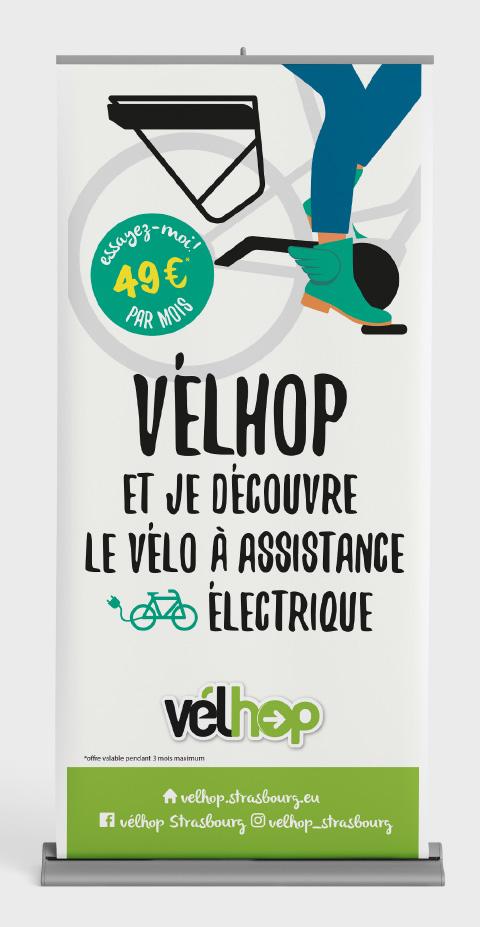 Affiche commerciale Velhop