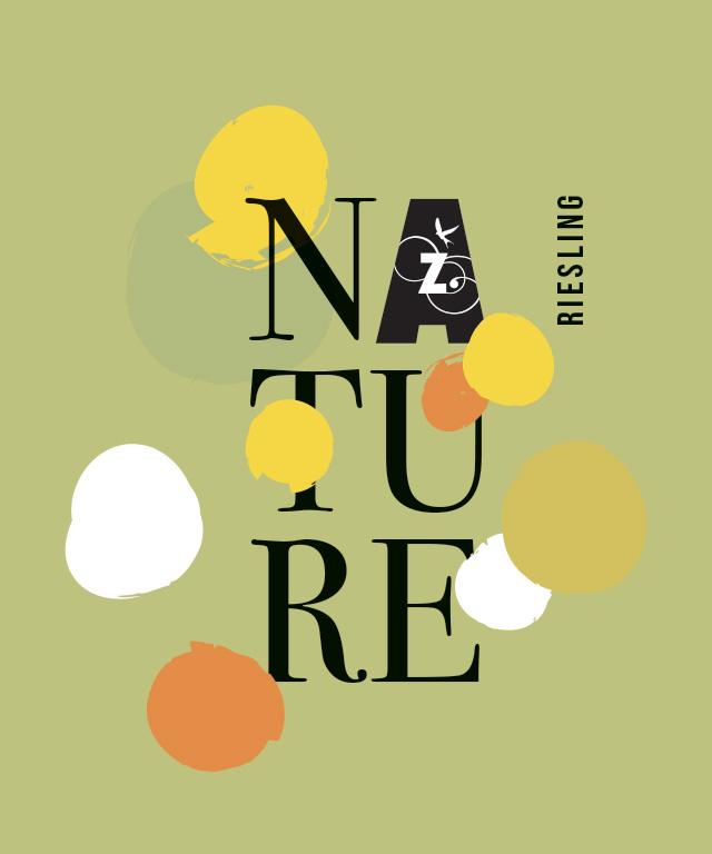 étiquette riesling nature Anstotz