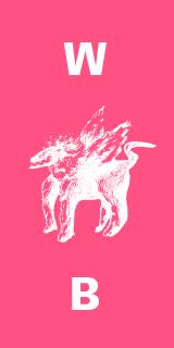 Logo agence griffon rose