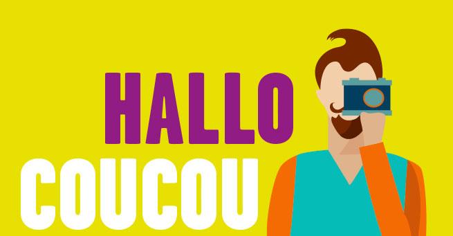 illustration Hallo Coucou